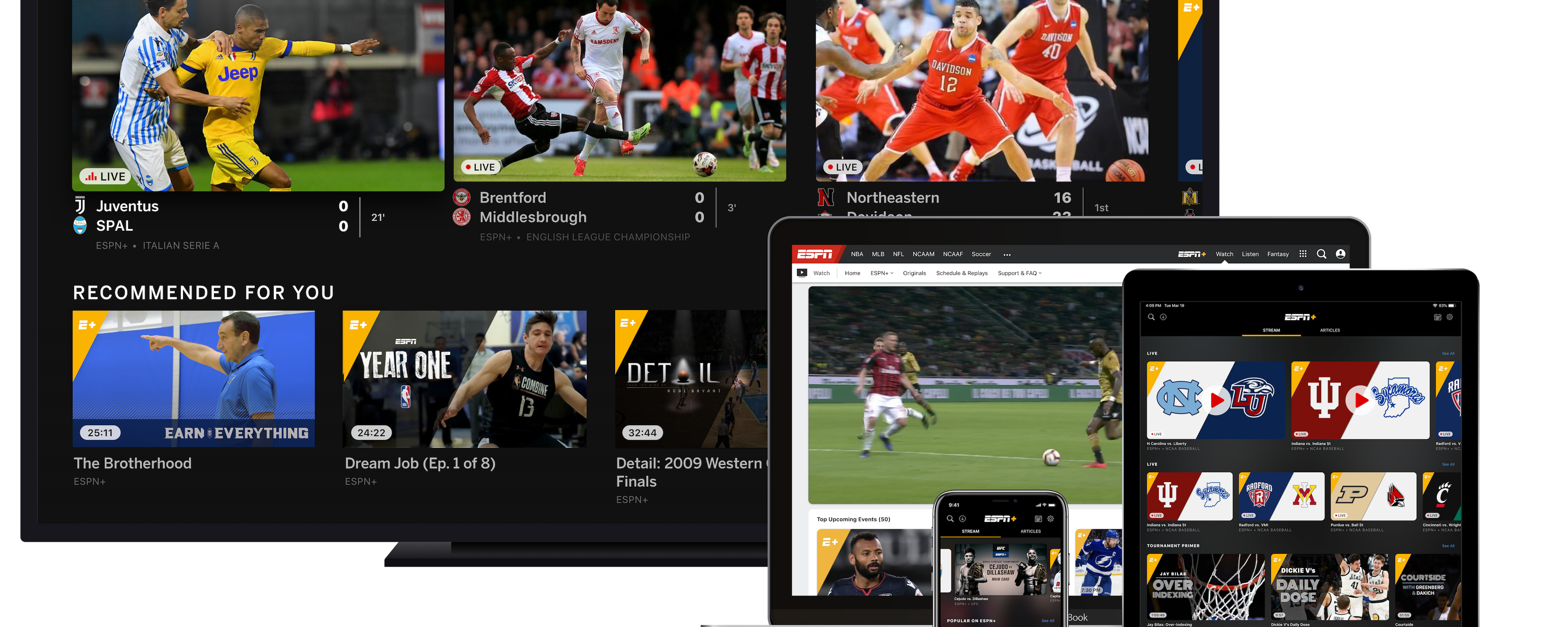 ESPN+ Debuts Enhancements to Further Personalize and Improve the User Experience within ESPN App