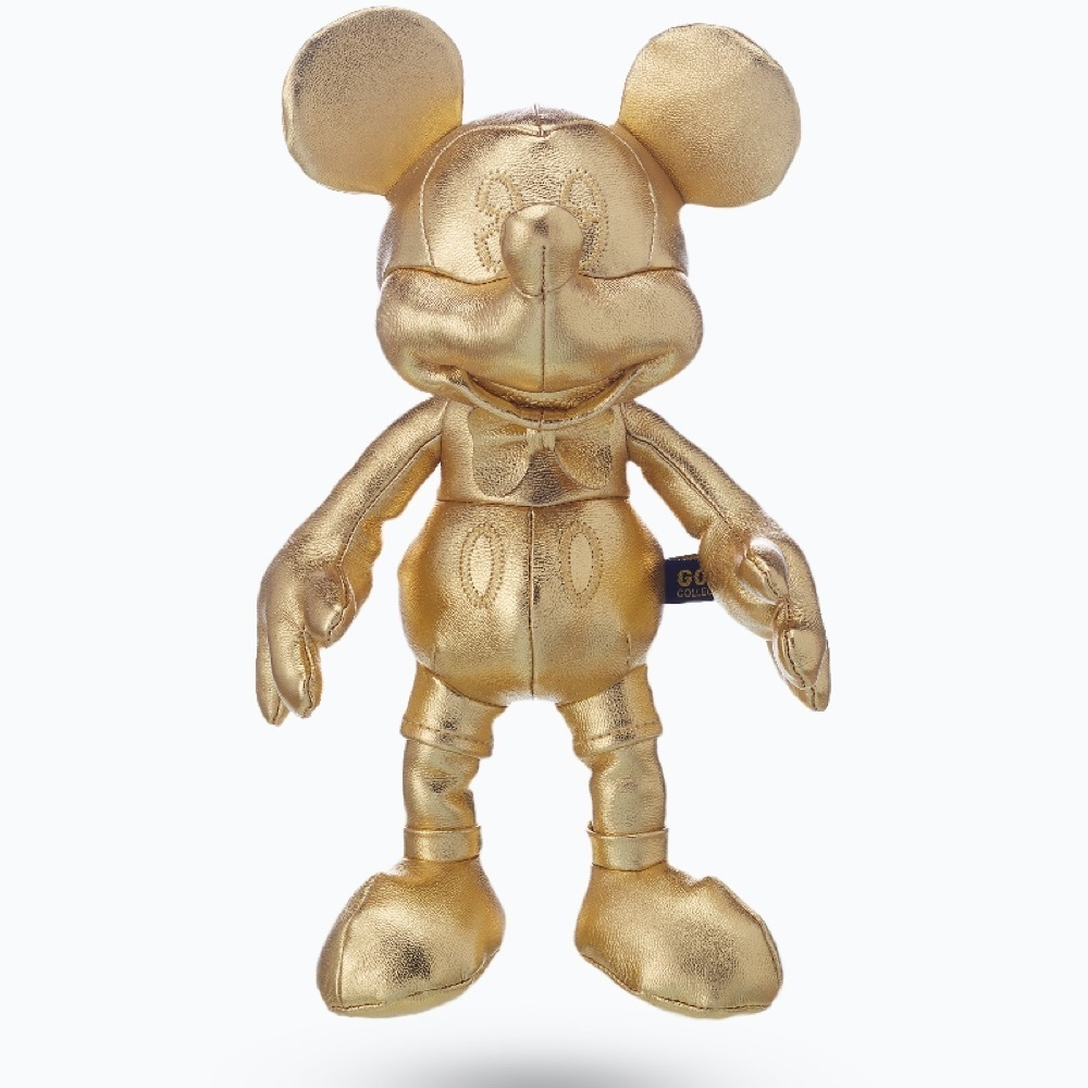 shopDisney l Mickey 90 Gold Plush