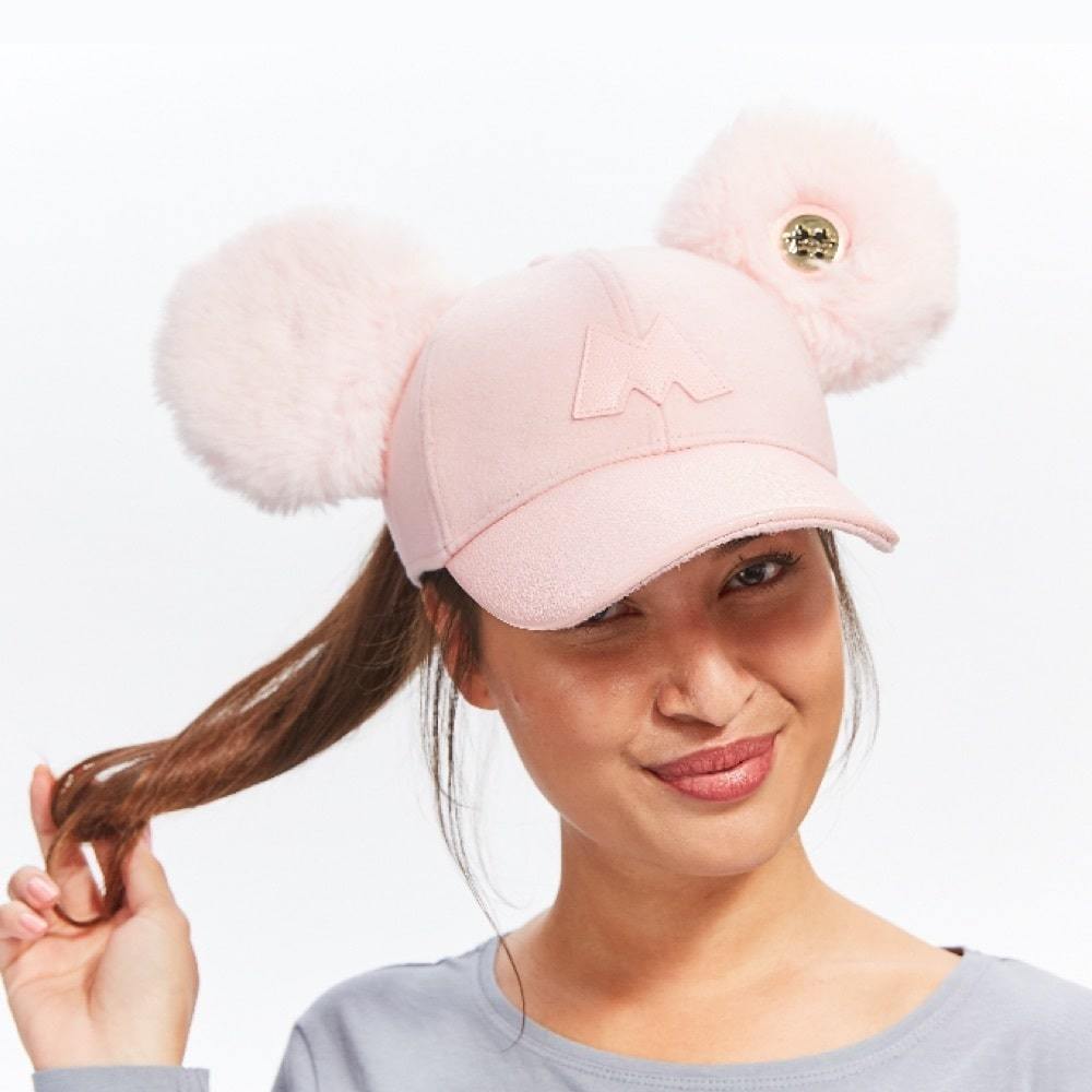 shopDisney l Mickey 90 Minnie Pink Cap