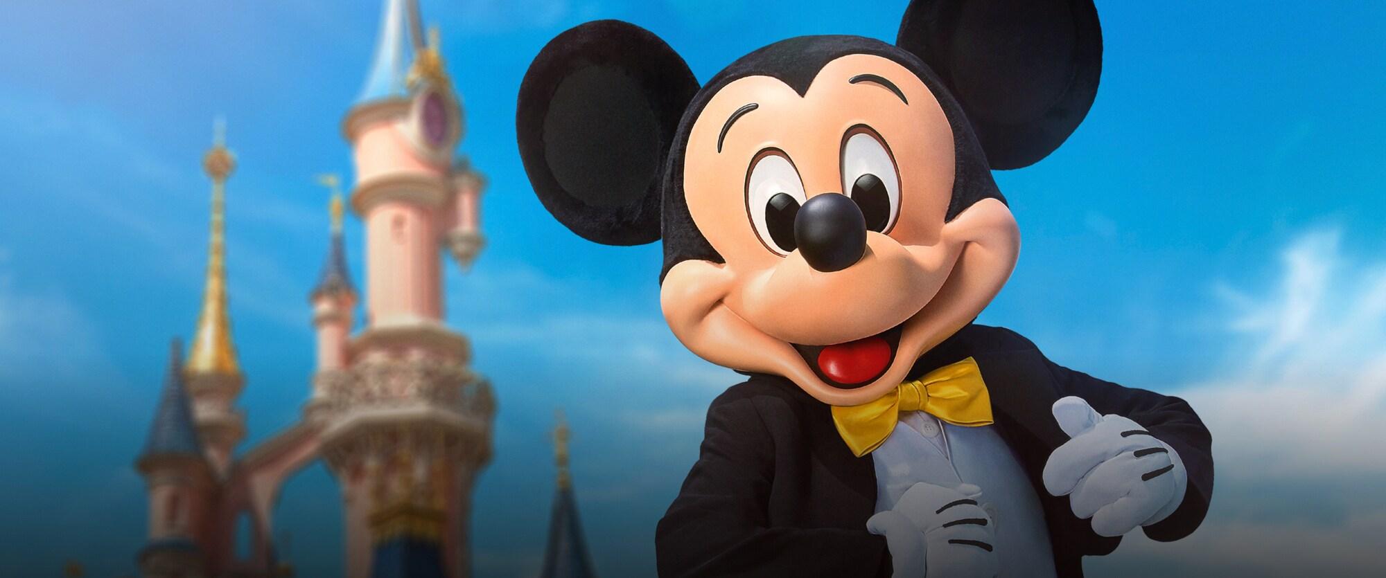 Um grande Olá da Disney