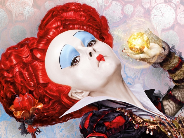 Iracebeth, the Red Queen and former monarch of Underland (Helena Bonham Carter) ruled with tyrann...