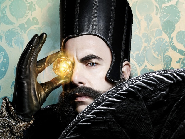 Time (Sacha Baron Cohen) is a magical being who sits on a black throne in a castle of eternity. H...