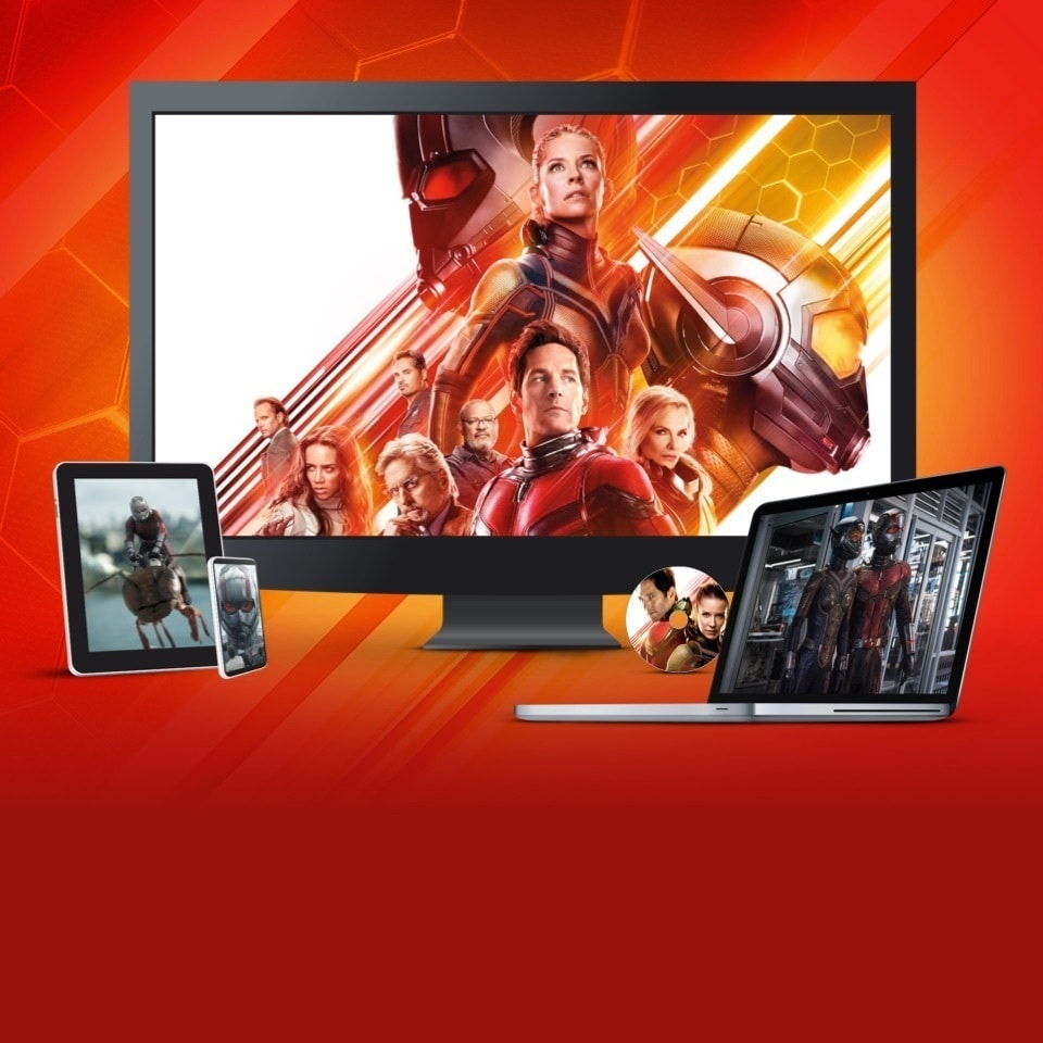 Ant-Man and The Wasp | Verkrijgbaar op DVD, Blu-Ray en als digitale download