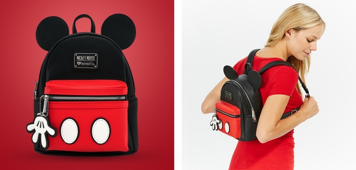 shopDisney | Loungefly Mickey Backpack