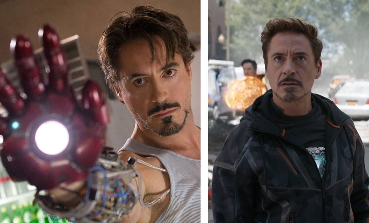 Iron Man (Tony Stark) – Iron Man (2008) a Avengers: Infinity War (2018)