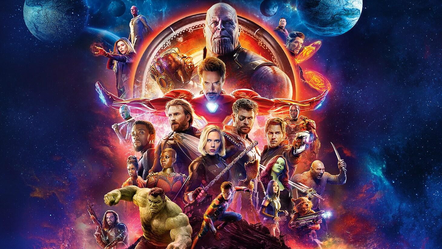 Scène uit Avengers: Infinity War Movie