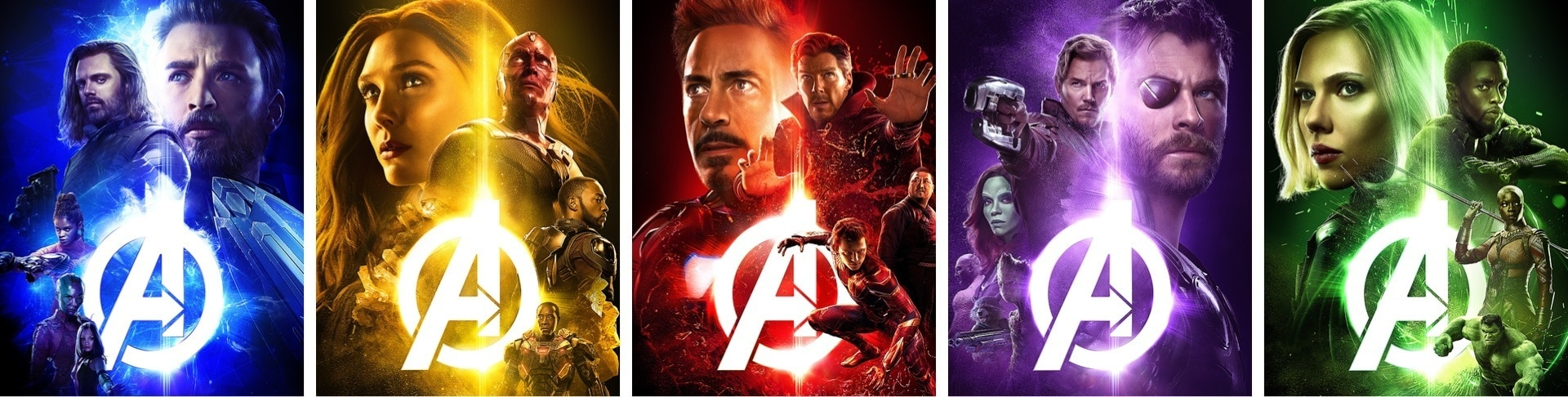 Team-Up Posters for 'Avengers: Infinity War'