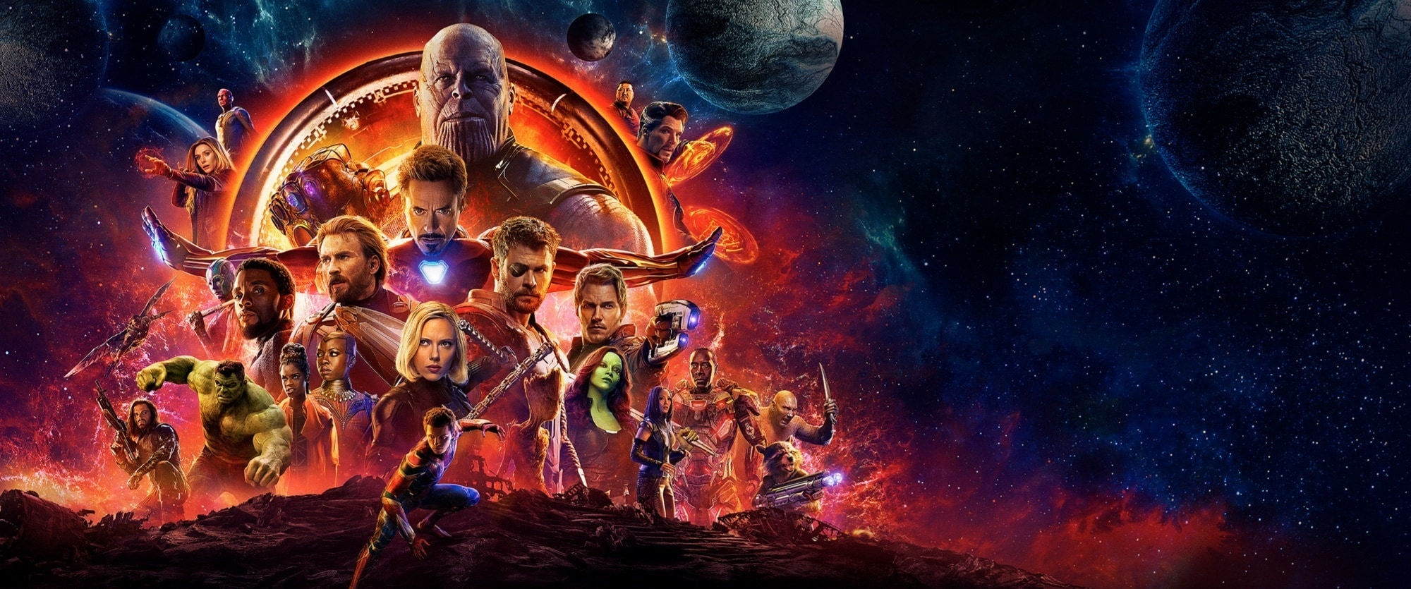 Avengers: Infinity War | Hero Placeholder