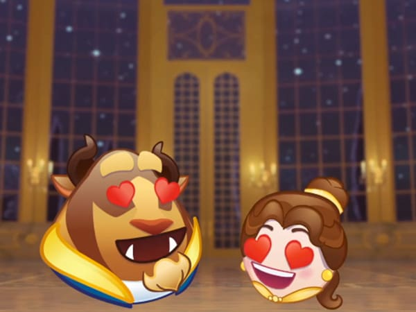 Beauty And The Beast - As Told By Emoji