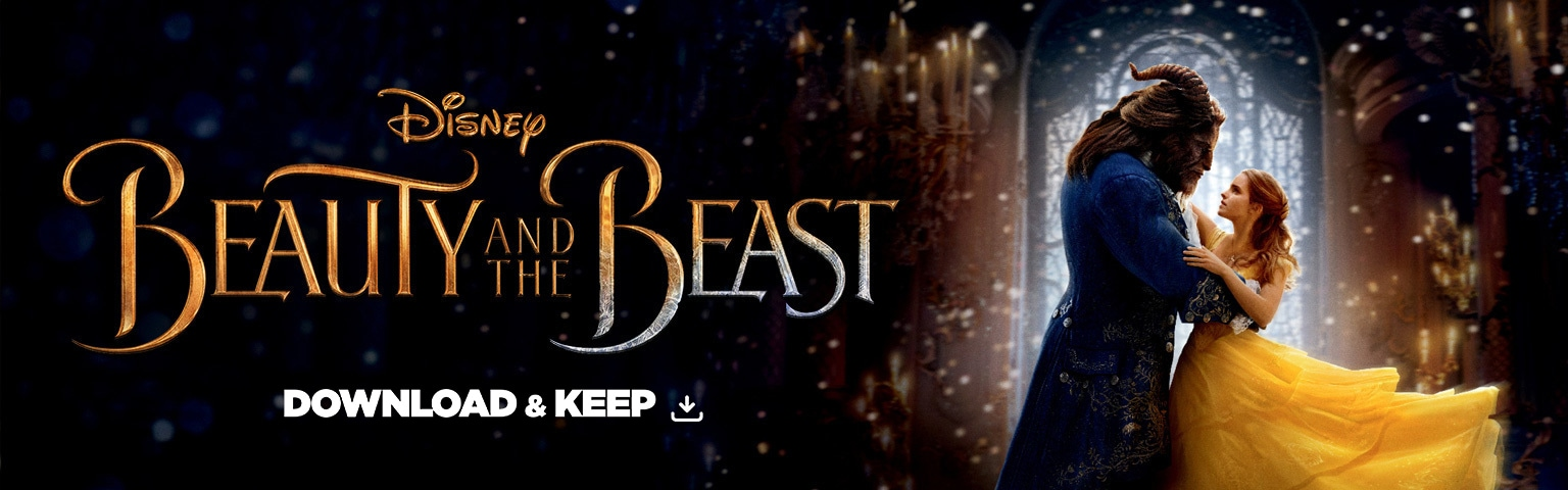 Beauty and the Beast - Download and keep - Hero Header