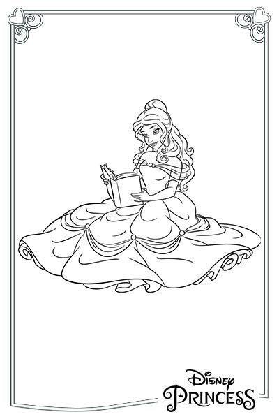 Belle legge un libro