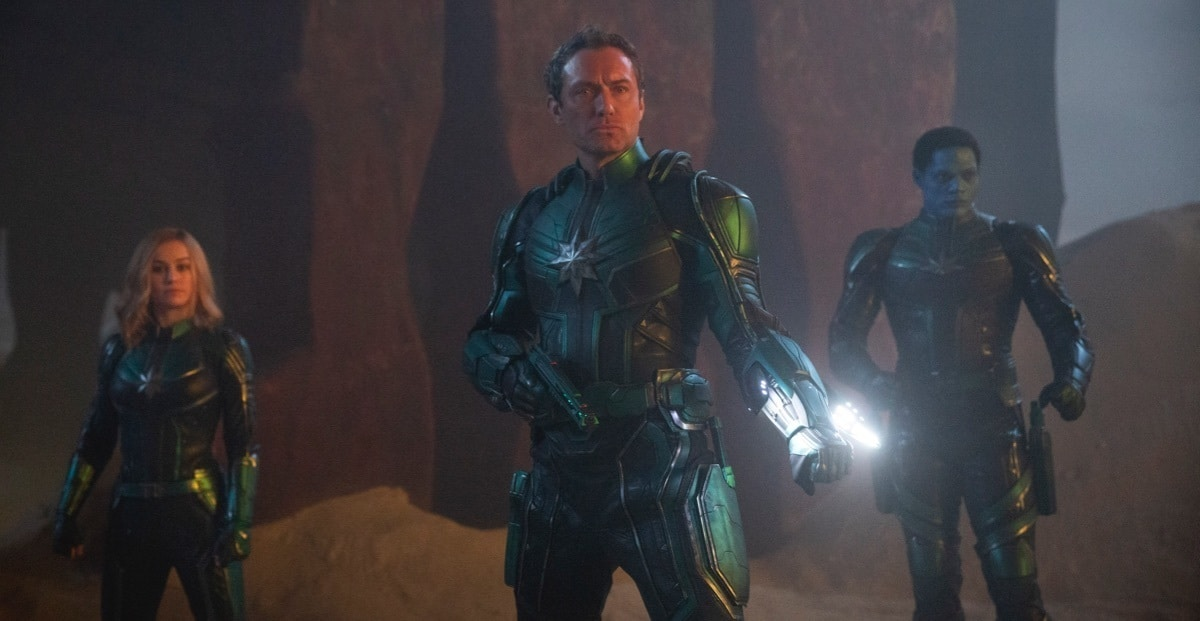 Captain Marvel - Jude Law como Comandante da Kree Starforce