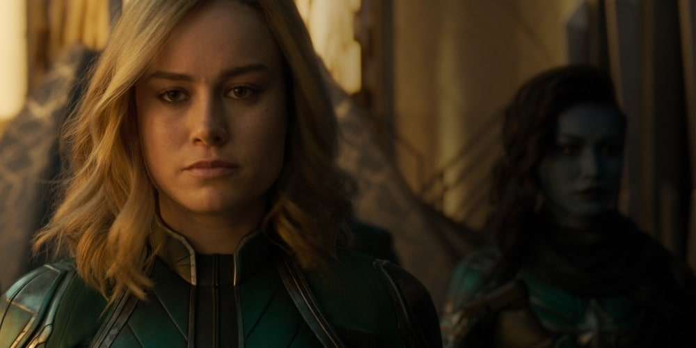 Captain Marvel mit ihrem galaktischen Kree-Superteam Starforce
