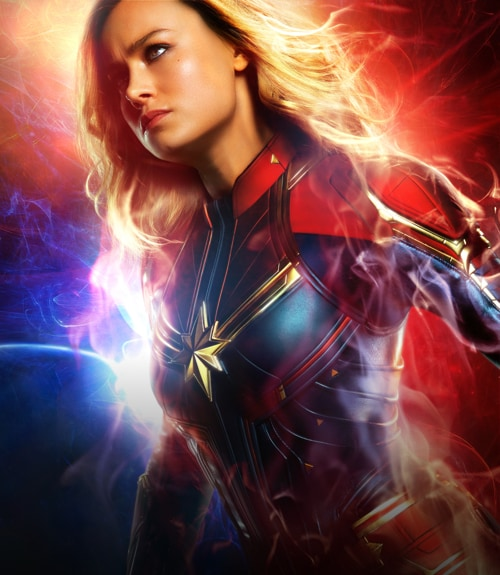 Captain Marvel | In cinemas 8 March