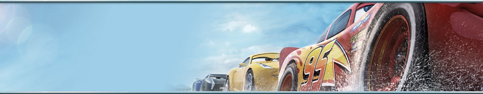 Short Hero - Cars 3 Movie page