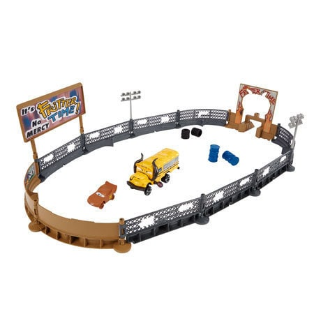 Disney Cars 3 Cooles Crash-Derby Spielset