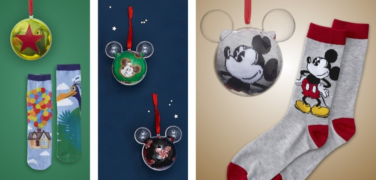 shopDisney | Hanging Sock Baubles