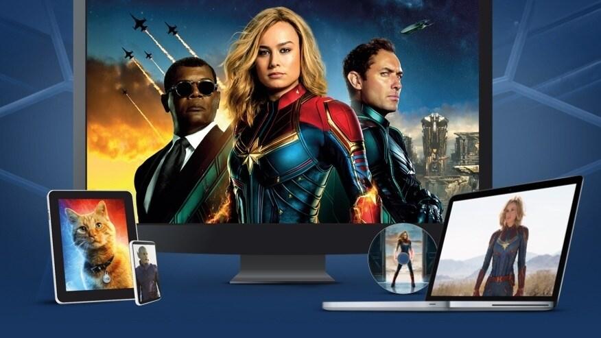 Captain Marvel | Dostupné na DVD, Blu-Ray a k digitálnímu stažení