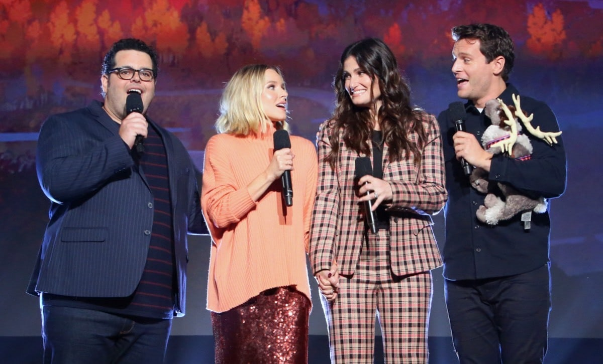 The cast of Frozen 2 at D23 Expo 2019