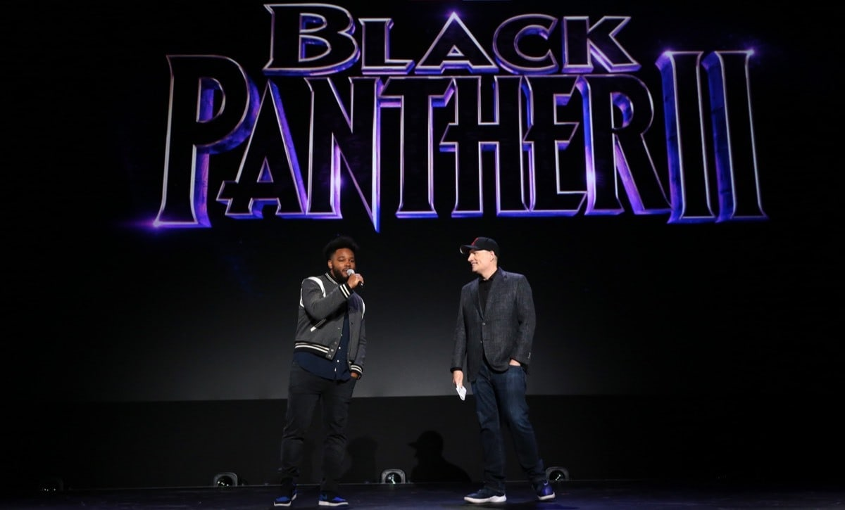 Ryan Coogler and Marvel President Kevin Feige.