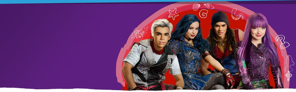Large Hero - DC Homepage - Descendants 2
