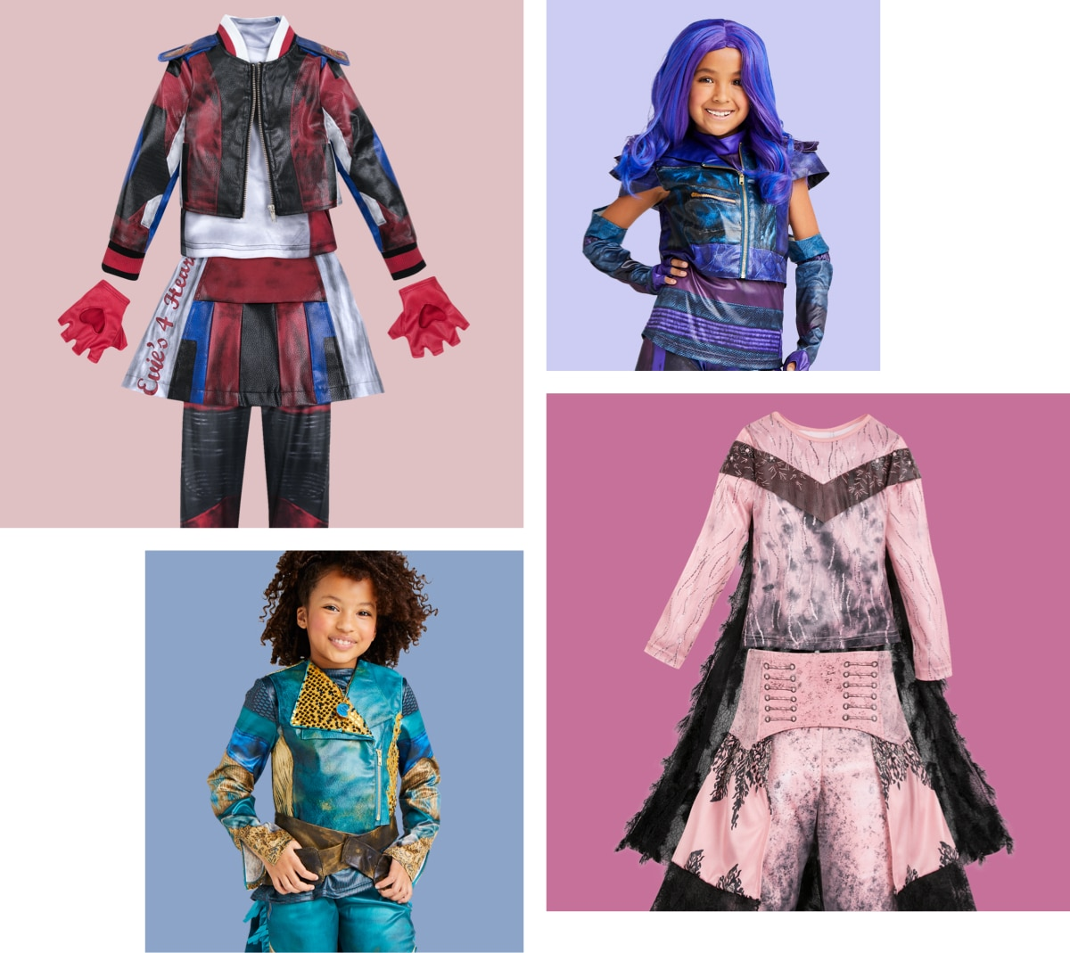Descendants inspired costumes