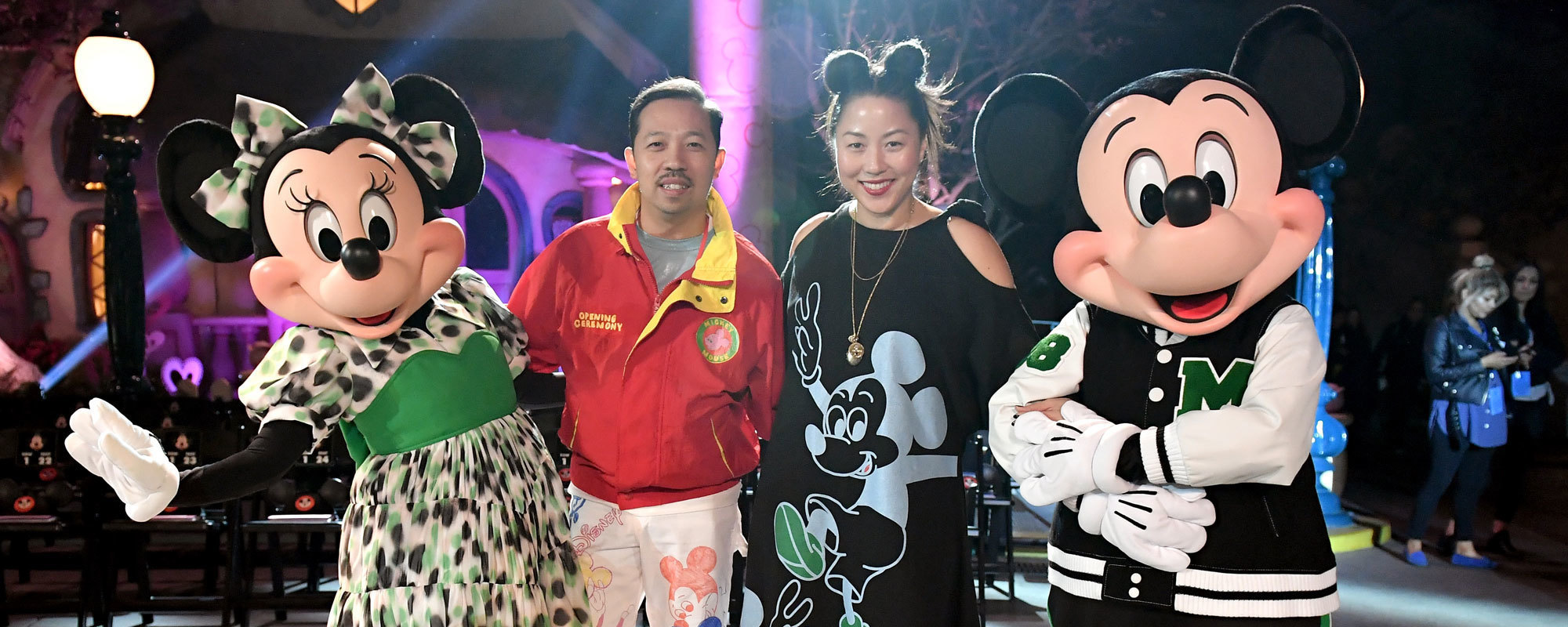 Mickey Mouse Opening Ceremony - Group