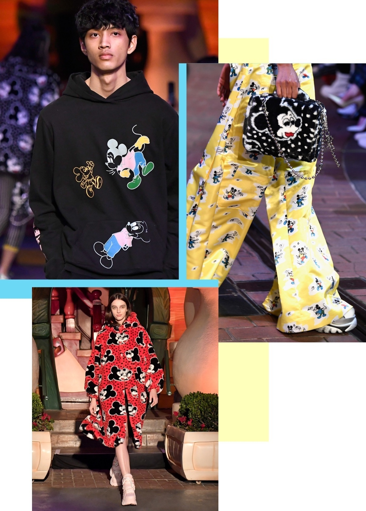 Mickey Mouse x Opening Ceremony Fashion show
