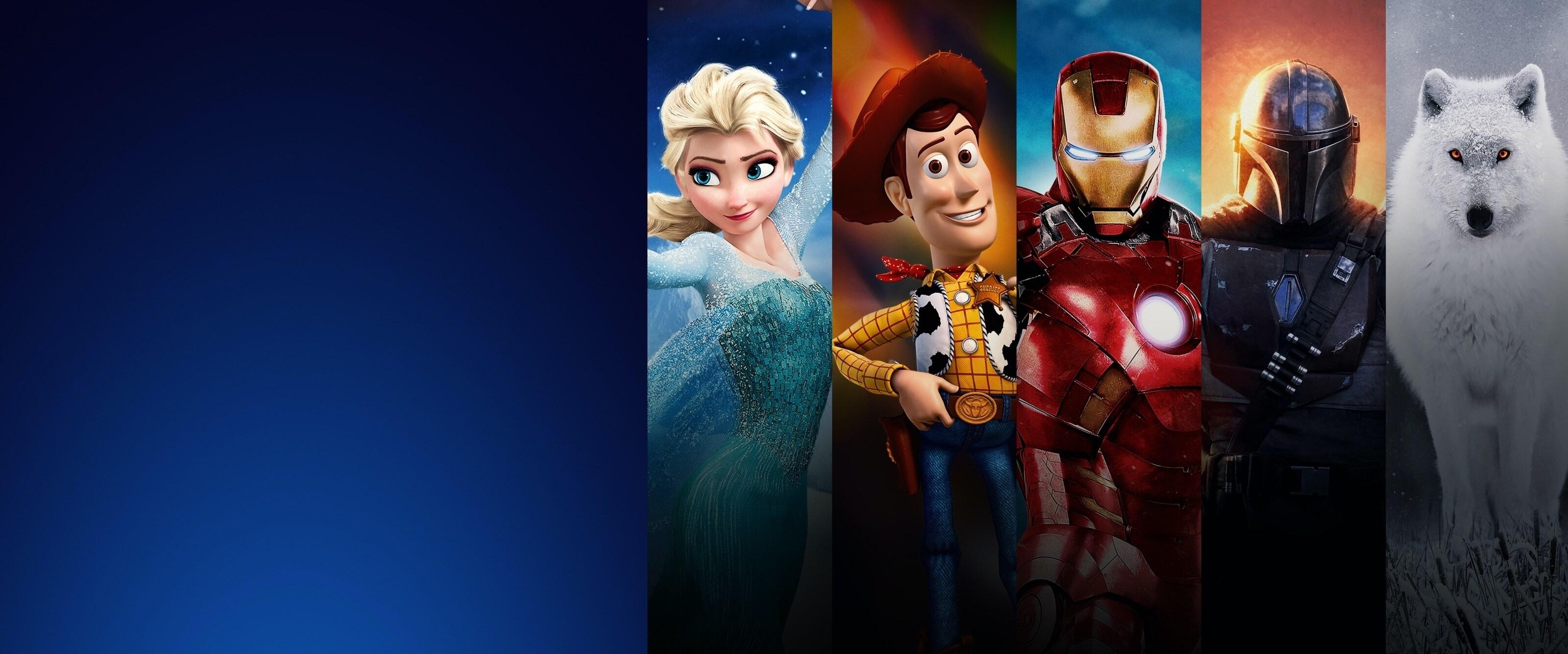 Ta reda på mer om Disney+