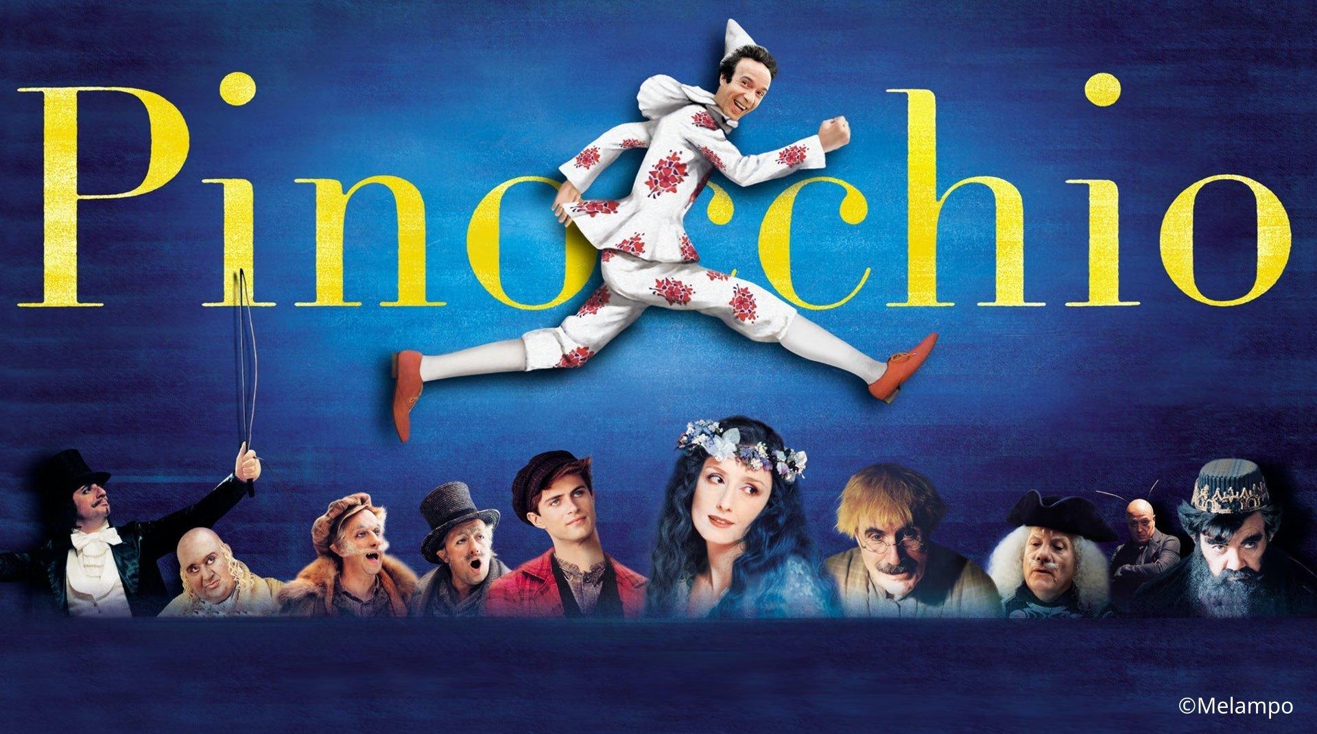 una scena tratta dal film Pinocchio di Roberto Benigni