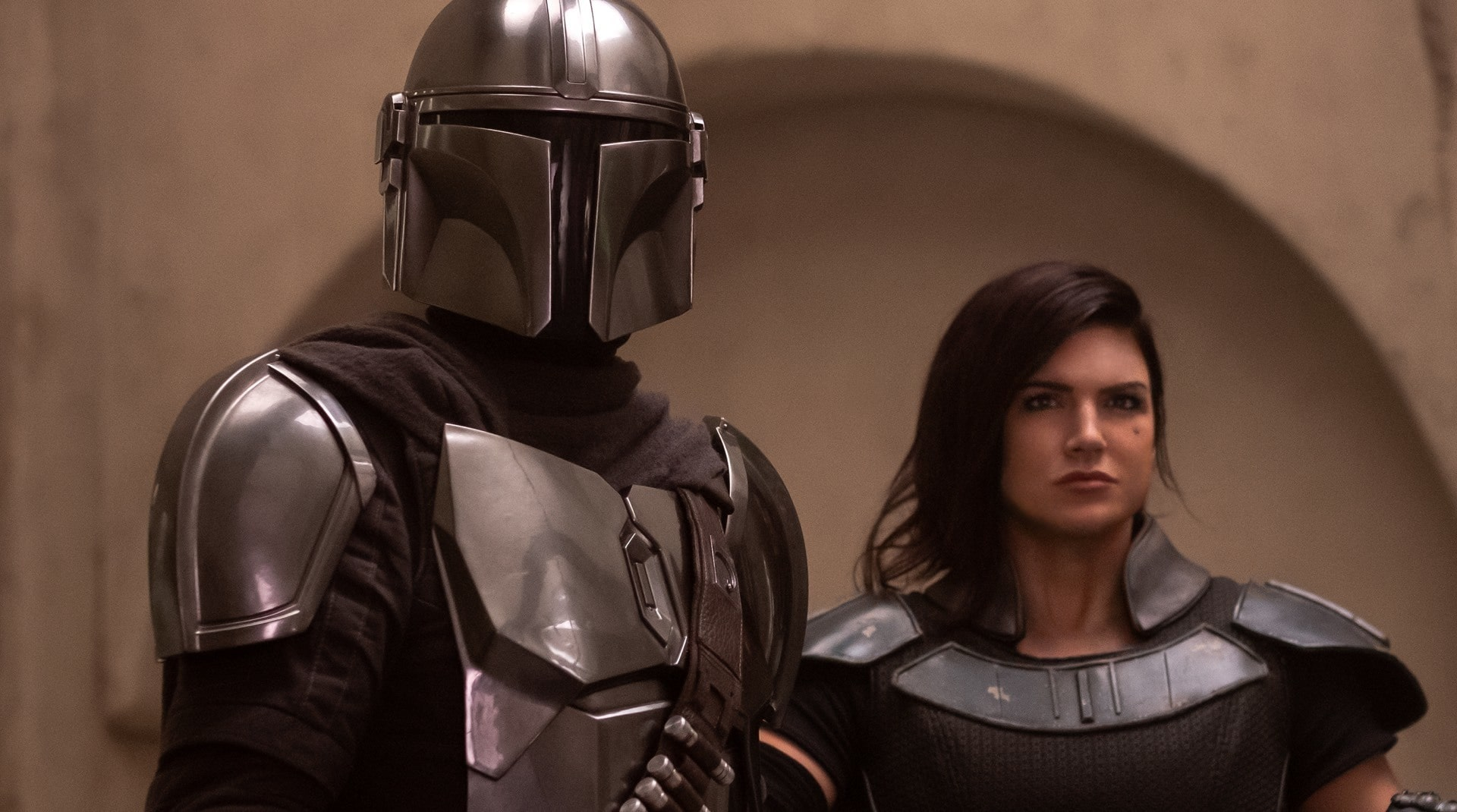 A still from The Mandalorian