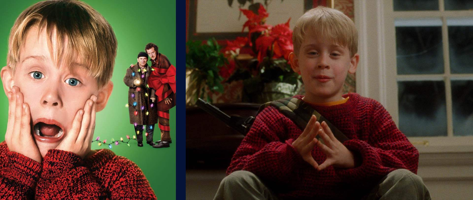 A still image from Home Alone