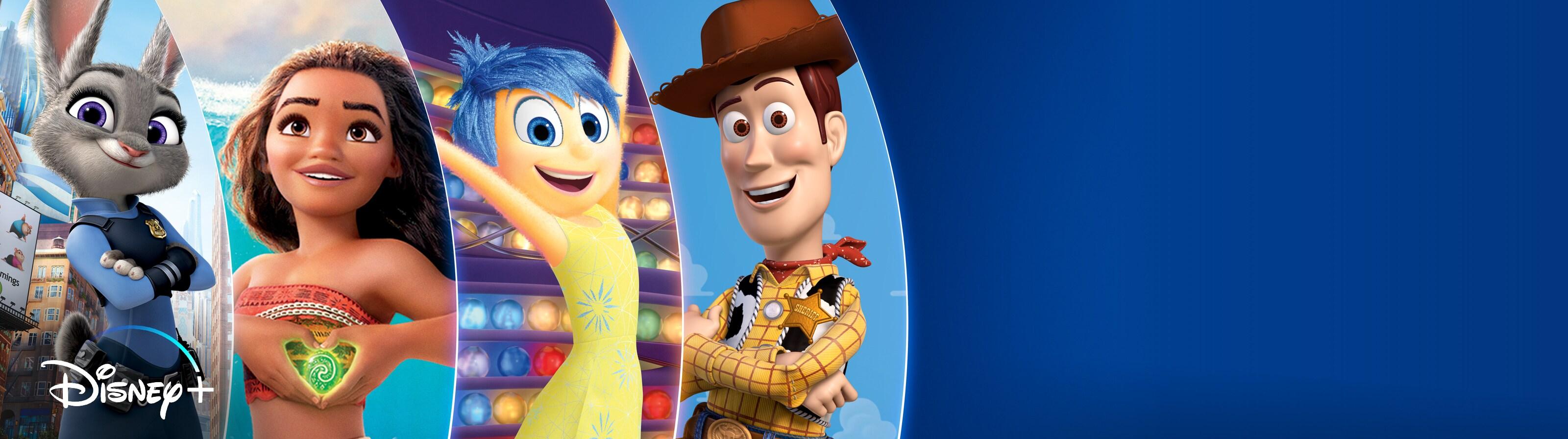 AU - ContentBanner - DisneyPlus - Disney and Pixar Favourites