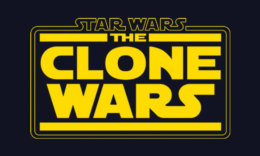 Disney Plus Video Page - Star Wars Clone Wars The Final Season - Logo