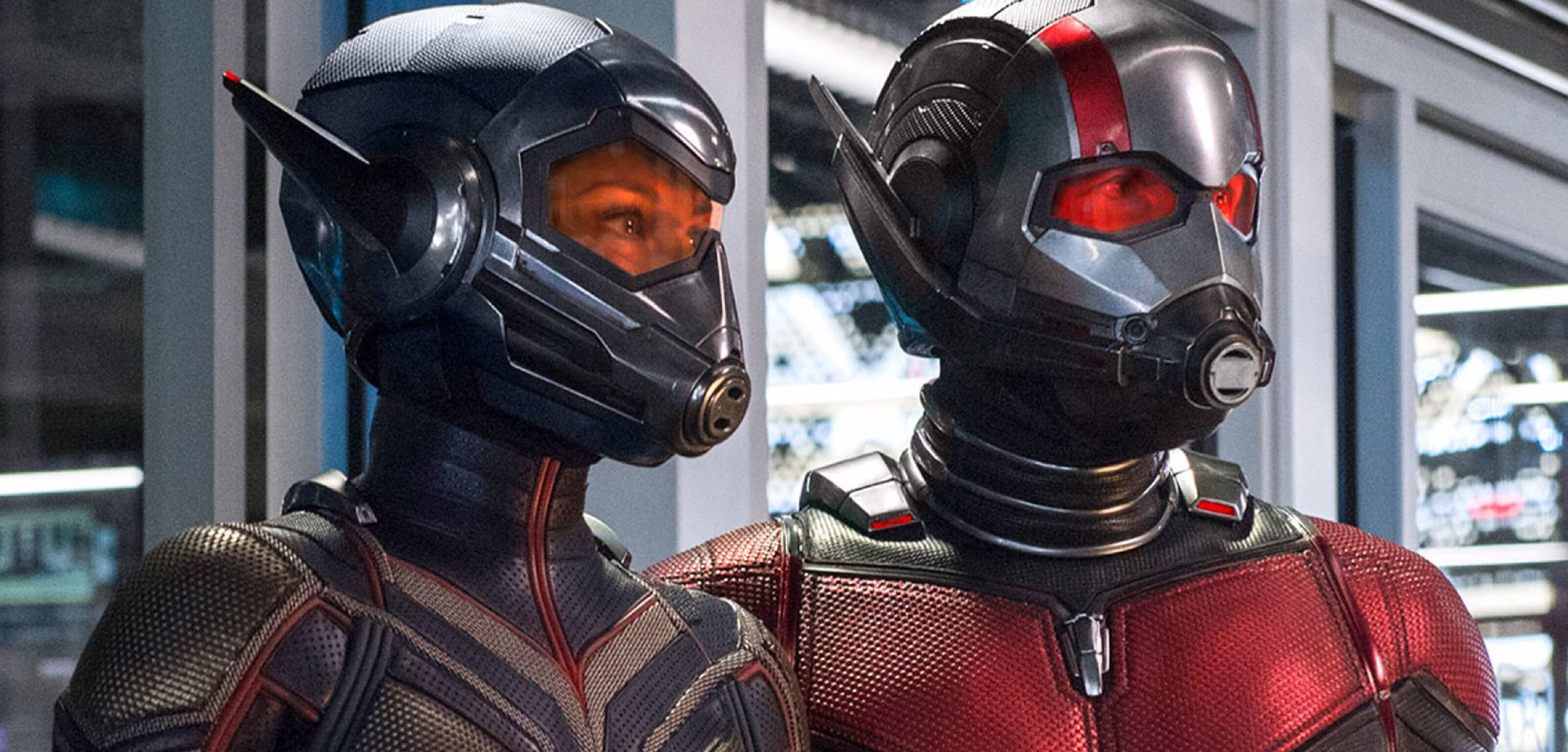 Un'immagine dal film Ant-Man e Wasp