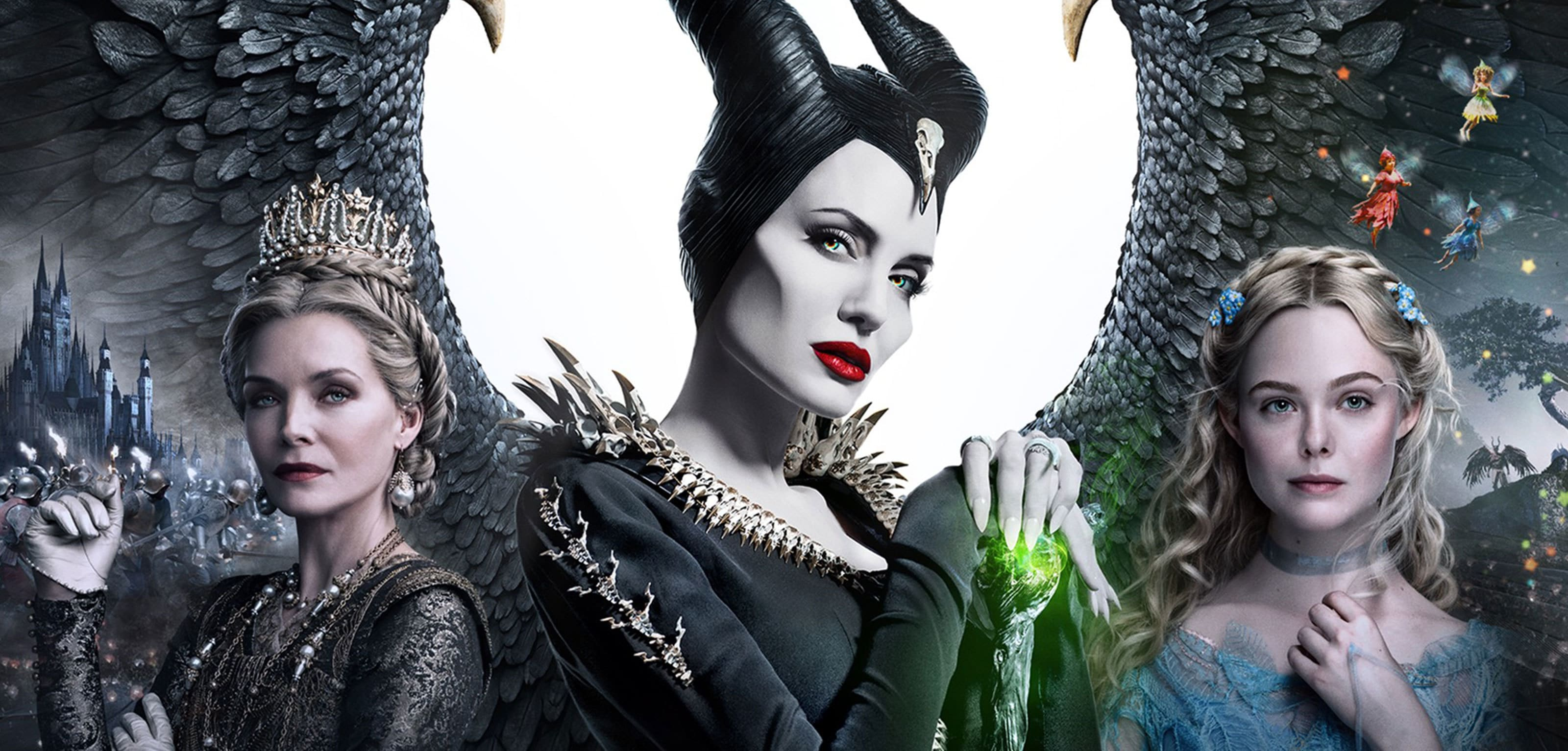 A poster from Maleficent: Mistress of Evil