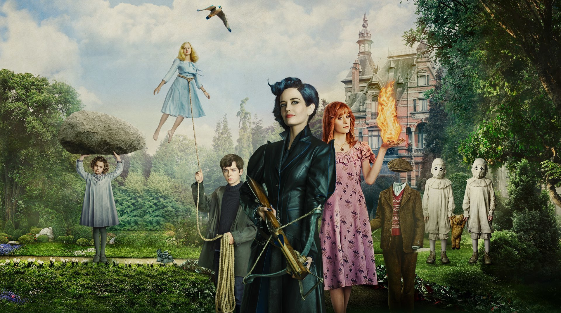A still image from Miss Peregrine's Home for Peculiar Children