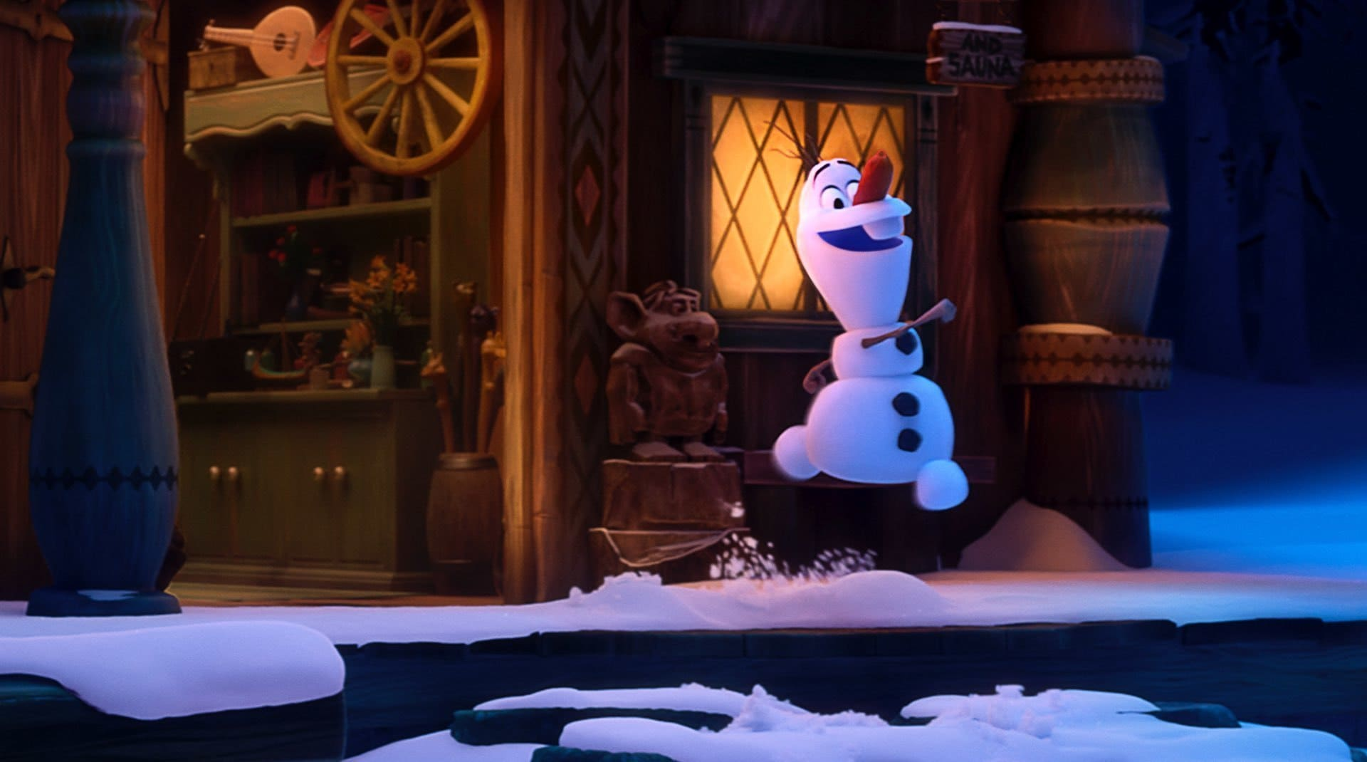 A still from Once Upon A Snowman