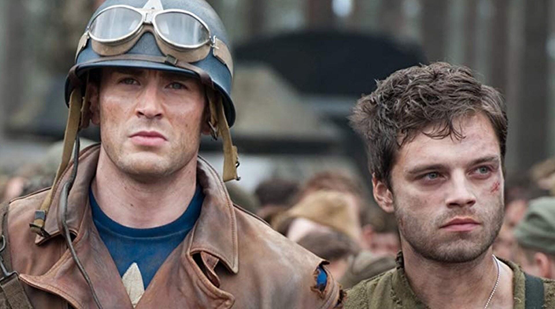 Una imagen del Capitán América y Bucky Barnes de Capitán América.