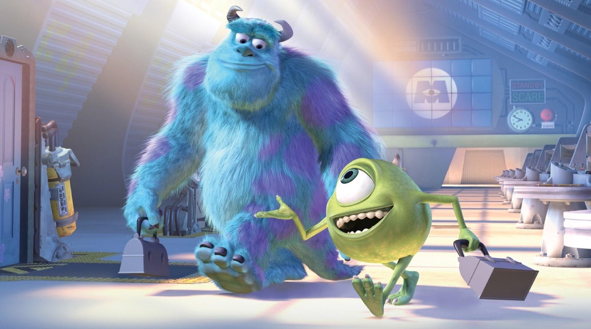 Una imagen de Mike y Sulley de Monstruos, S.A.
