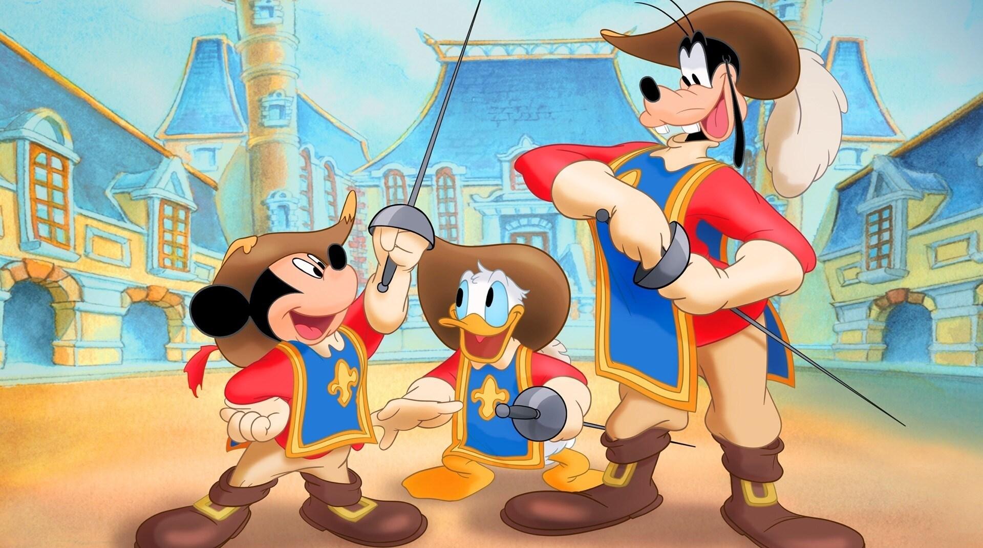Un'immagine di Topolino e Pippo