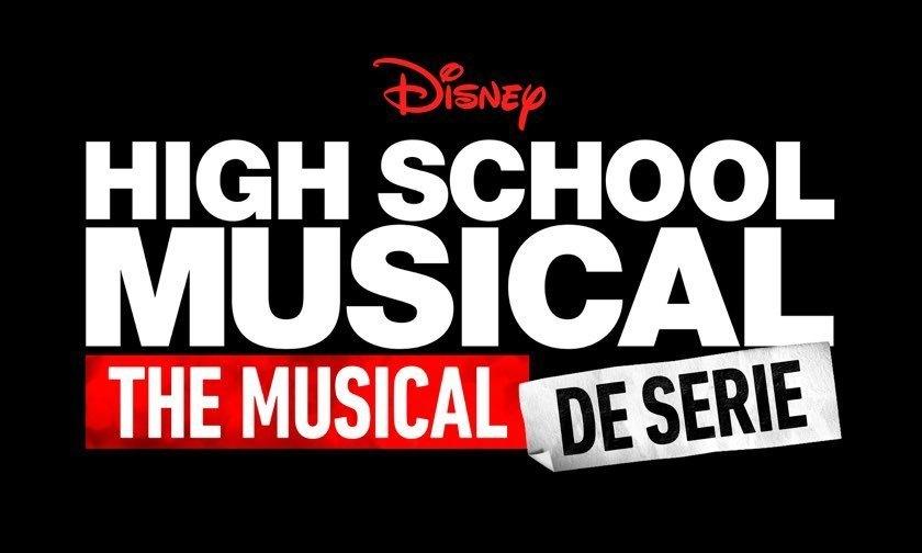 High School Musical: The Musical: De Serie-logo