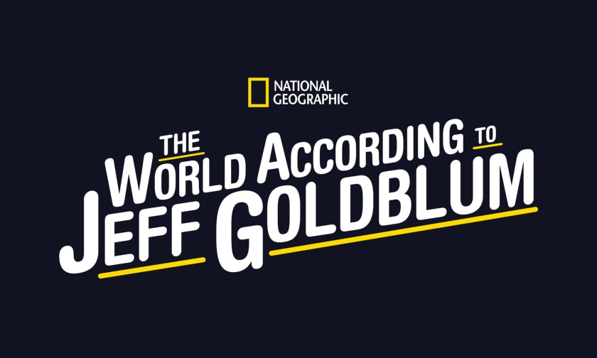 The World According to Jeff Goldblum Logo