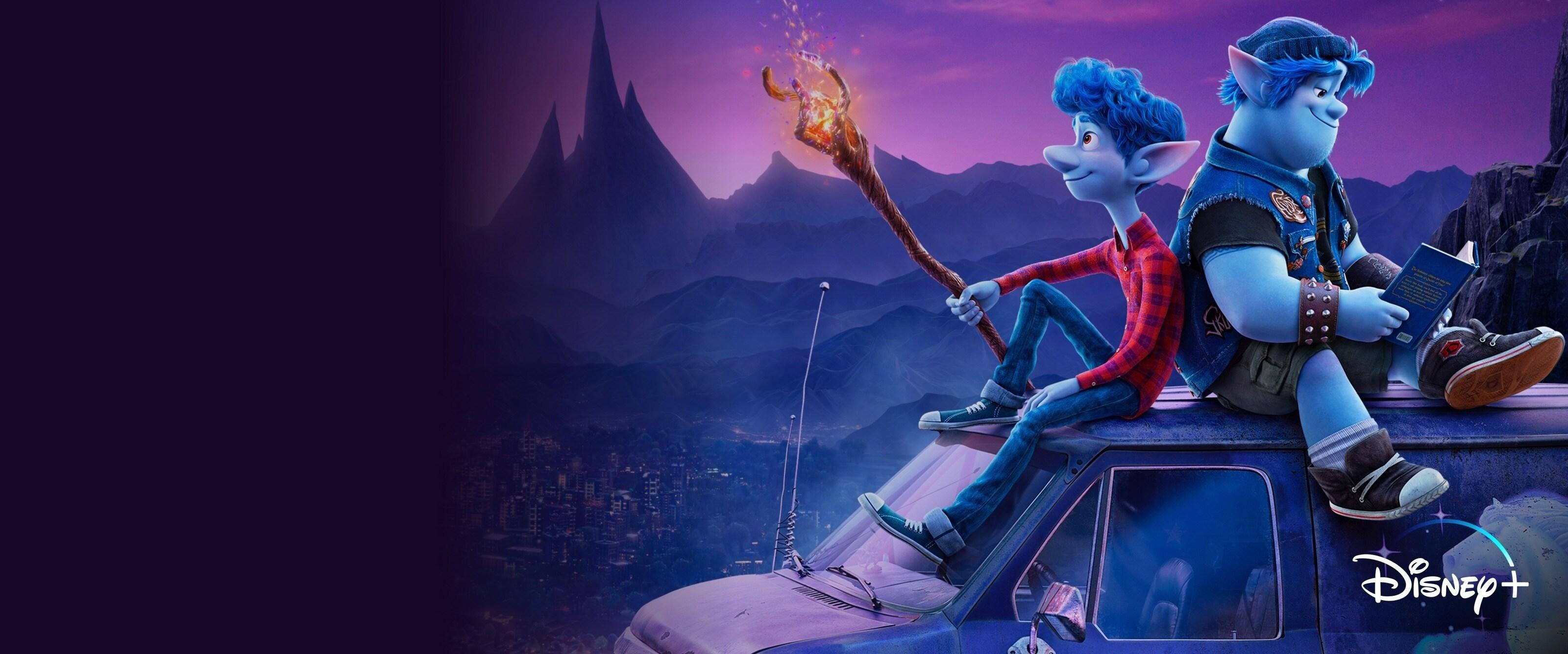 Stream nu Onward op Disney+