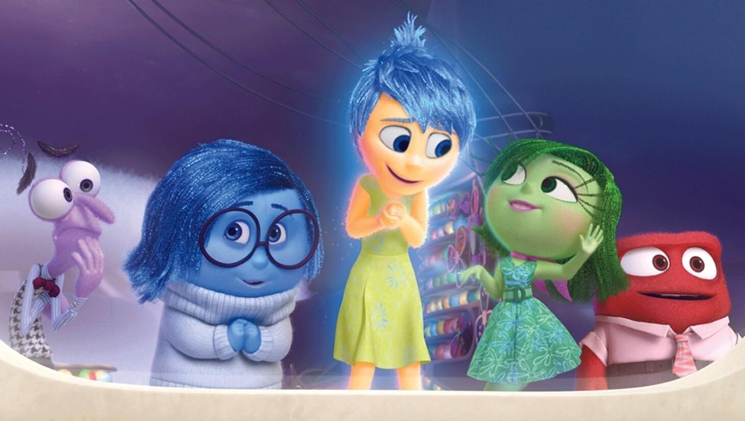 Een still uit de film Inside Out