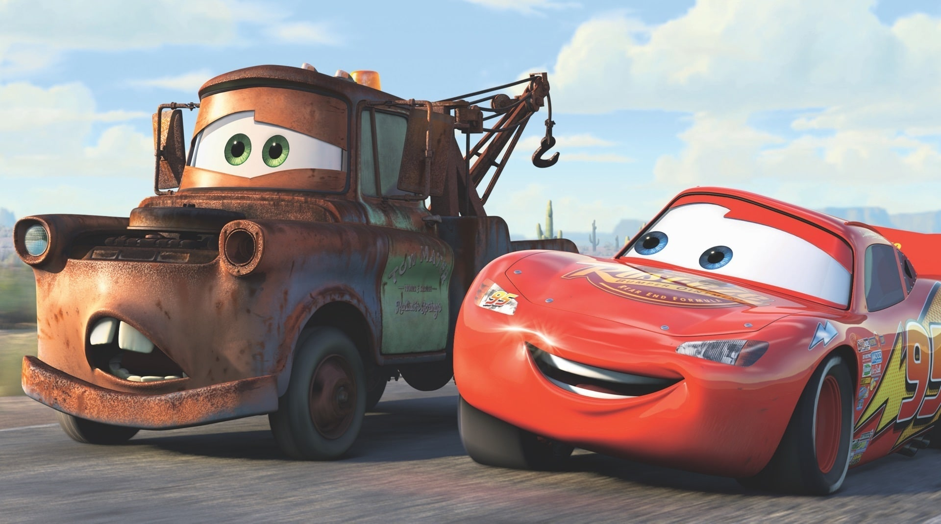 A still from Cars