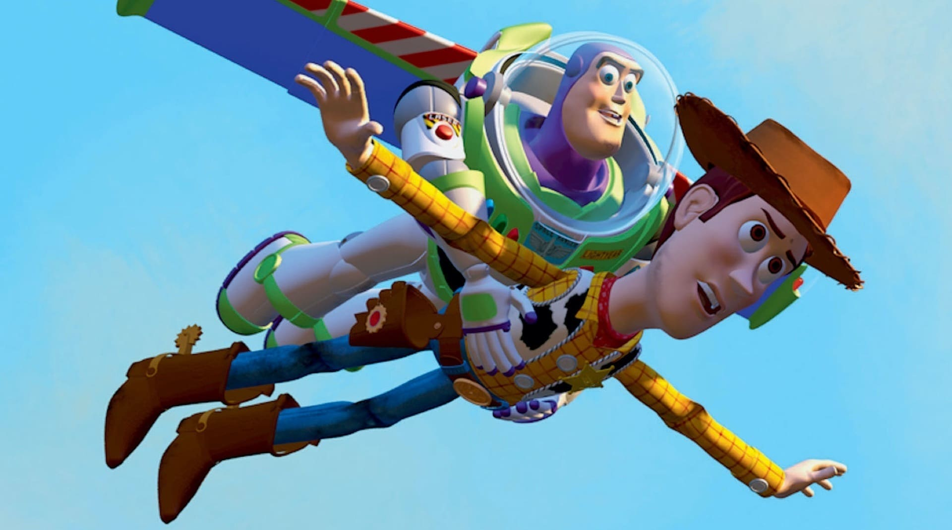 A still from Toy Story