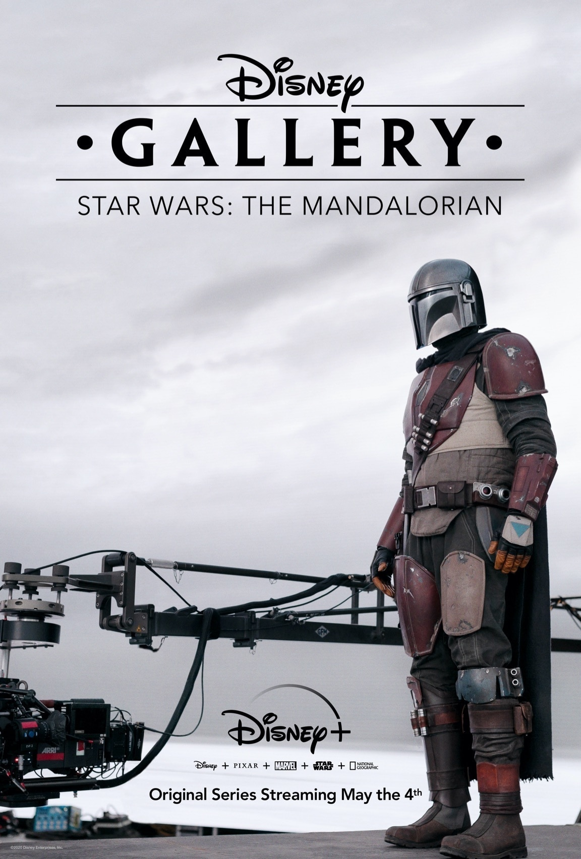 Disney Plus - Disney Gallery The Mandalorian - Poster