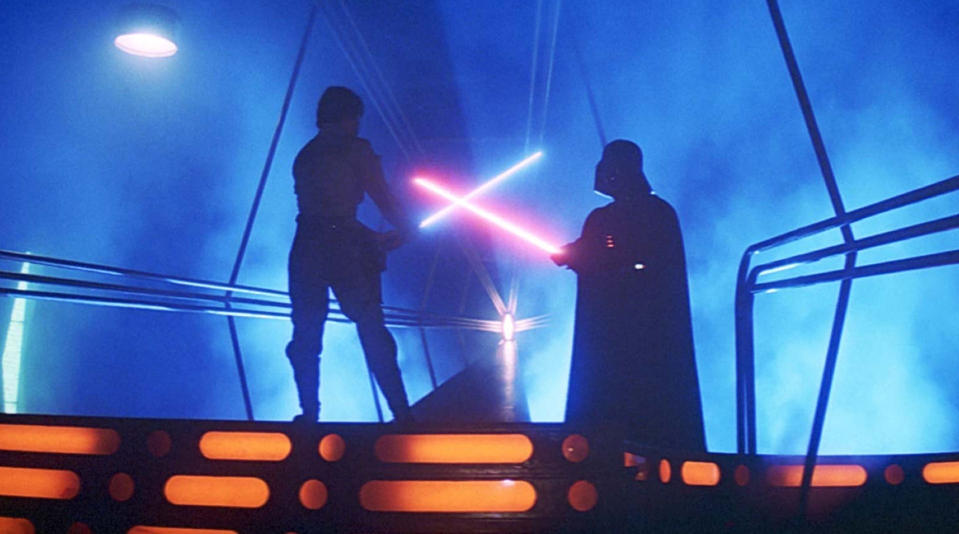 A selection of images from the Star Wars Saga