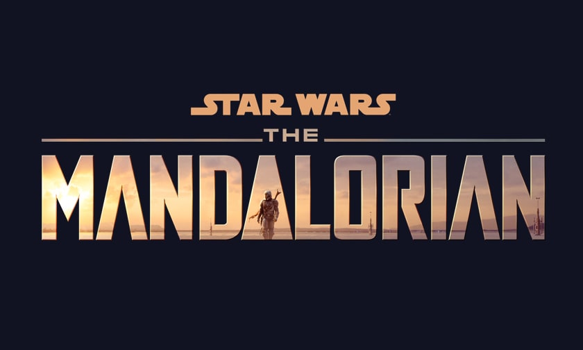 Disney Plus Video Page - The Mandalorian - Logo